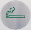 SIGN PLATE -SMOKING-
